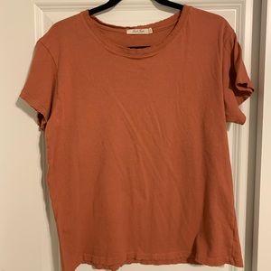 distressed hem junk food t-shirt